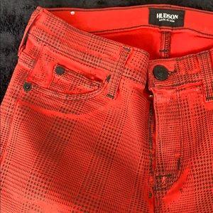 Hudson midrise nico super skinny jeans